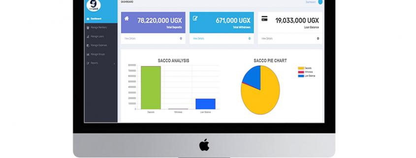mfuko SACCO management system interface